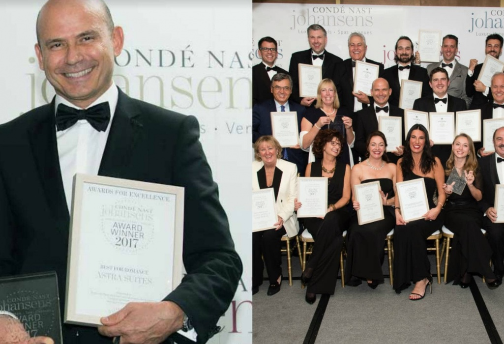 (EN) Award for excellence as the Best Hotel for Romance for 2017