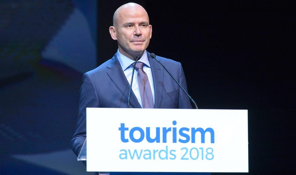 (EN) Astra Suites at the Greek Tourism Awards 2018