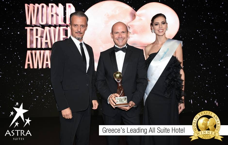 (EN) 'Greece's Leading All-Suite Hotel' at the 23rd World Travel Awards